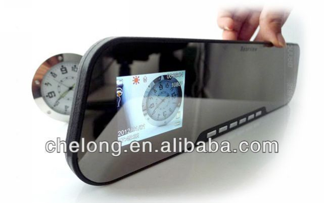 China manufacturer Chelong Dual lens night vision 16:9 widescreen camera car electronics