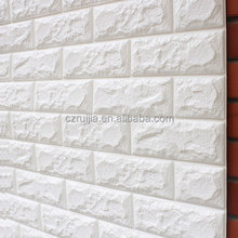 New Design 10*700*770mm 3D Wallpaper XPE Foam DIY Brick Wall Panel with self-adhesive for interior and exterior decor