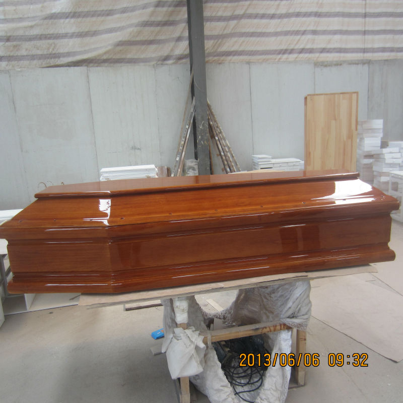 Italy style cheap coffin