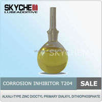 T204/lubricant additive/Oxidation And Corrosion Inhibitor/Alkali-Type Zinc Dioctyl Primary Dialkyl Dithiophosphate