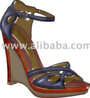 shoe and handbag illustration