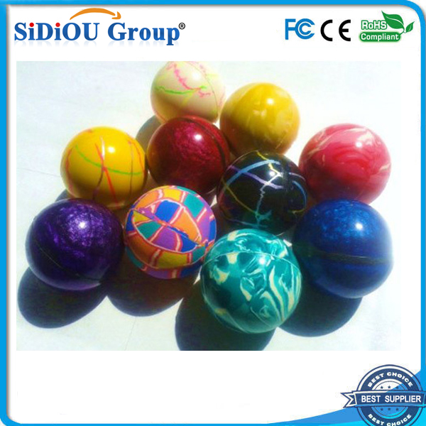 mix 60mm rubber hi bouncing balls