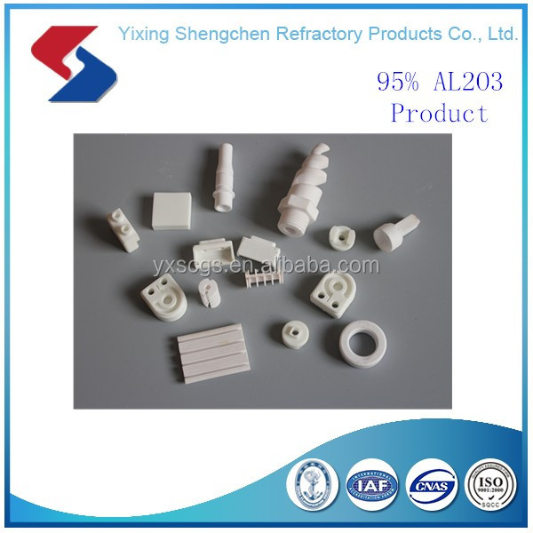 Al2O3 Precision ceramic parts/ceramic products,ceramic insulator,ring/plate/rod/substrate