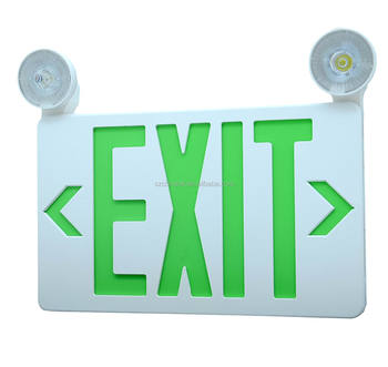 CM-180R UL combo emergency exit sign light