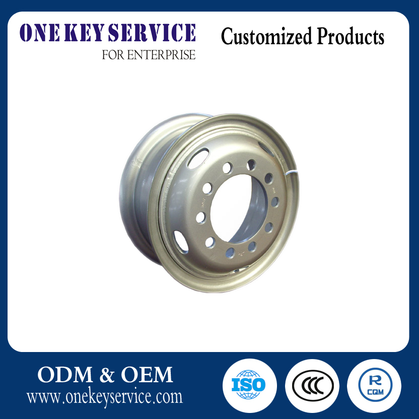 Steel wheel rims7.5-20 for truck