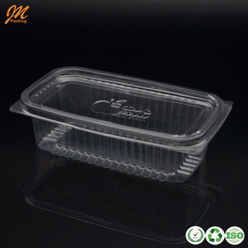 Plastic fresh cut fruit container packing/packaging
