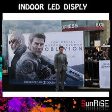 Morden Design Eye-catching high brightness Indoor control card p6 indoor smd 3 in 1 full color Video Led Display Screen