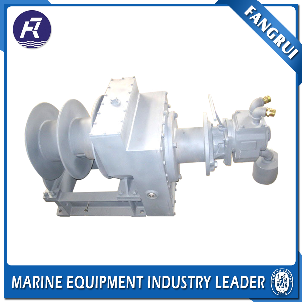 Hot Sale Slow Speed Wire Rope Pulling Winch Boat Used Capstan Winches Spooling