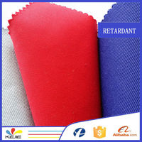 240g/m2 Cotton Polyester Negastat grid carbon fabric for lab coat