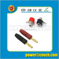 Good Speed rca plug /binding post/dual banana plug High Quality