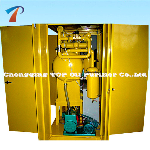 TOP Transformer Oil Vacuum Oil Purifier, Waste Oil Recycling Filter Machine