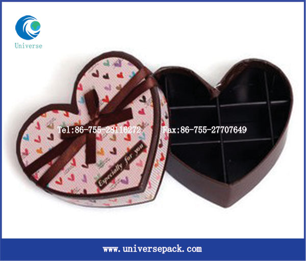 Heart shape chocolae box/cupcake box/candy box