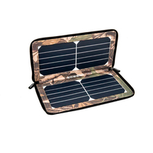 10W sunpower portable foldable outdoor IPad solar charger