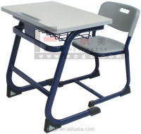 auditorium desk and chair , single student desk and chair set , standard classroom desk and chair