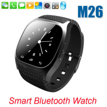 2015 New M26 Bluetooth <strong>Smart</strong> <strong>Watch</strong> with LED Display / Dial / Alarm / Music Player / Pedometer for Android IOS Phone Smartwatch