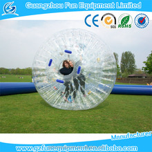 Crazy giant human hamster ball for sale and zorb ball or rolling ball for grass or hill