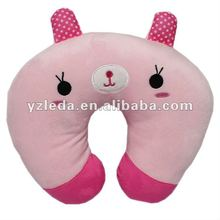Selling best red similing cat / neck pillow toys