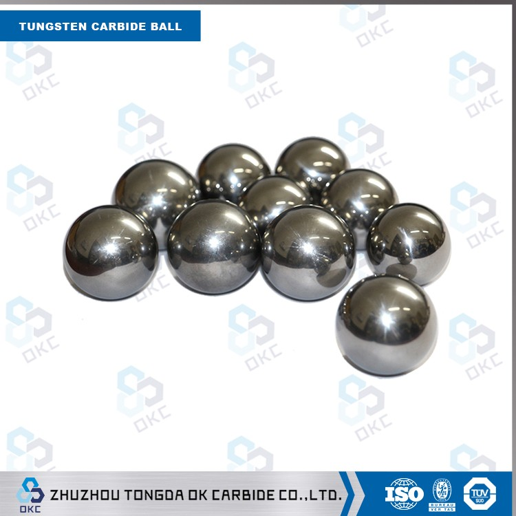 Manufacturer High Precision Metal Product tungsten carbide ball bearing
