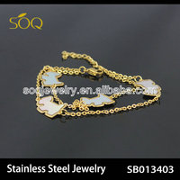 stainless steel anklet china jewelry making supplies