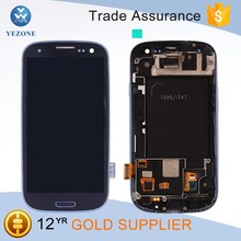 Replacement for Samsung Galaxy S3 T999 Lcd Touch Screen Digitizer Assembly with Frame