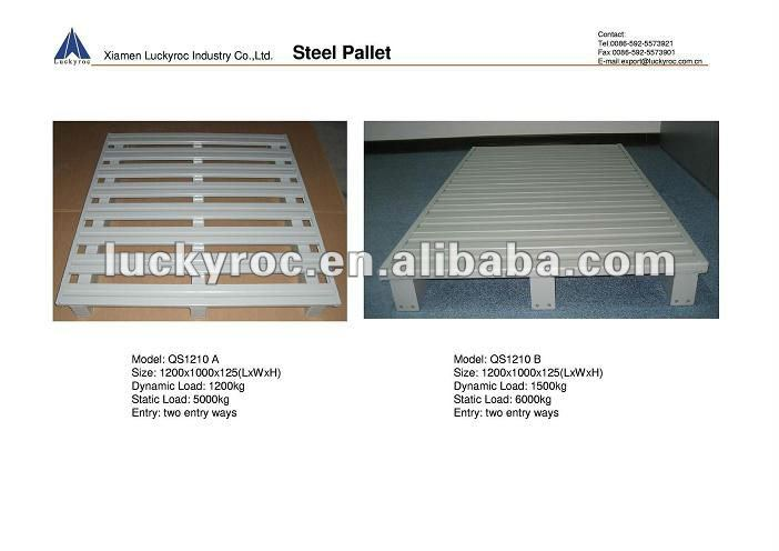 Color Powder Coated Durable Steel Pallet