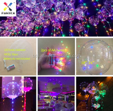 24 inch Plastic led bubble balloon for party decoration