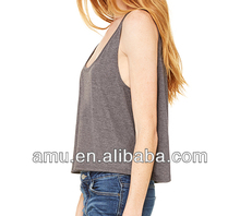 2014 popular beautiful tank top for Ladies fancy Top for women