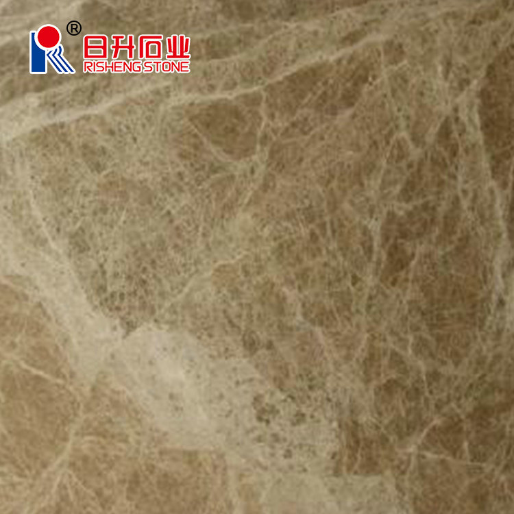 Custom Kitchen Polished Brown Marble Blocks for Sale