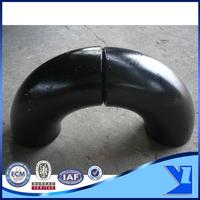 ASTM A234 WPB carbon steel 180 degree pipe elbow