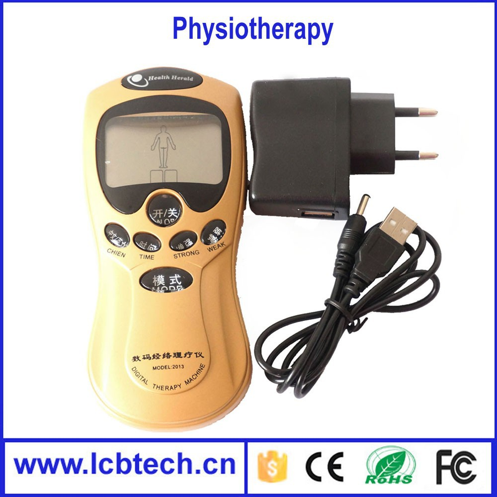 with 4 pads Top selling Digital Therapy body Machine personal Electric body slimming Massager