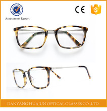 New Model Hand Made Acetate Eyewear Branded Eye Glasses Frames