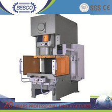 metal sheet punching hole with high speed product line C-Type hydraulic press