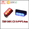 Auto car LED red blue side warning marker lights 10-30V TBF-3691 C3