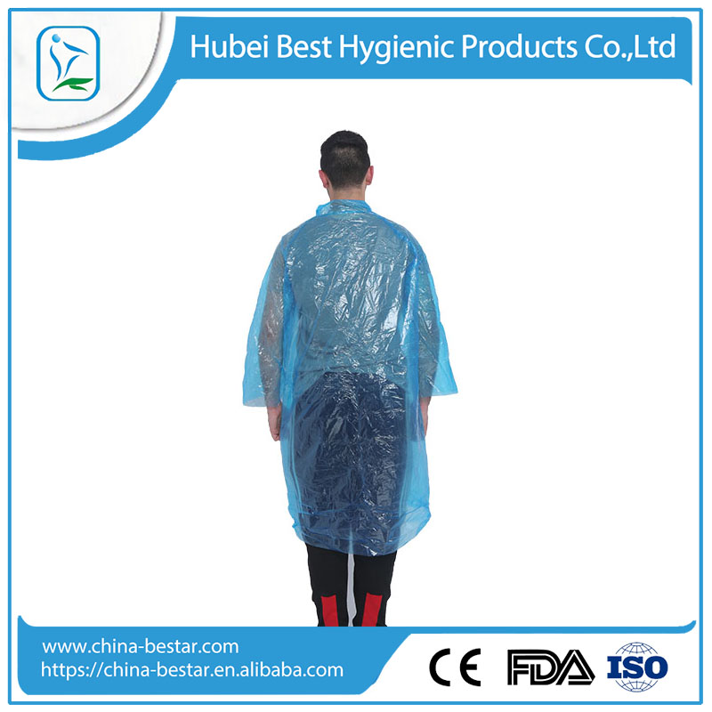 Professional disposable raincoat with great price