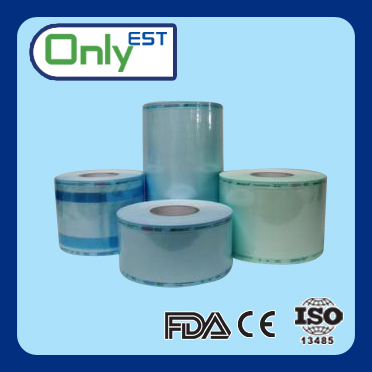 High Quality Medical autoclave sterilization heat-seal reel pouches roll