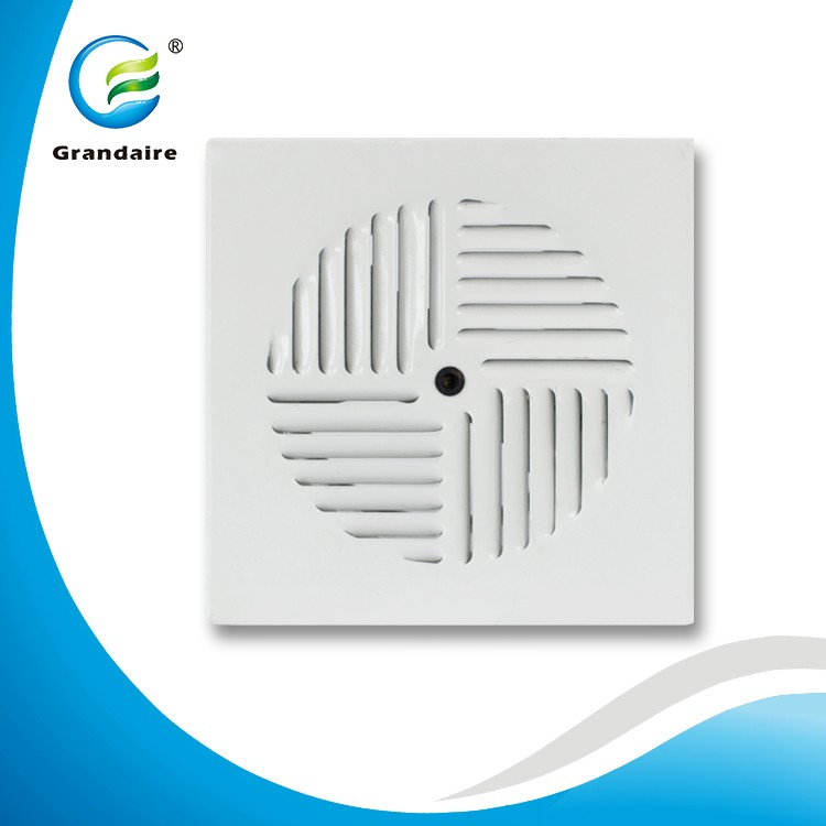 China Factory Floor Vent Covers Aluminum Floor Air Grille with Steel Damper