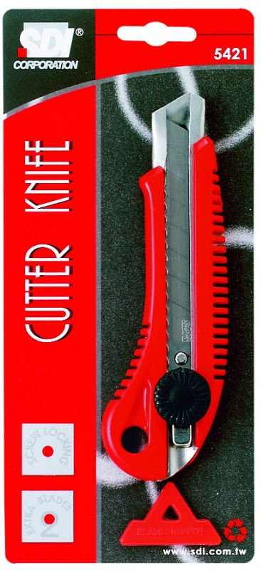 5421 Cutter knife with locker (SDI BRAND from TAIWAN)