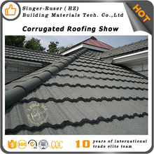 Looking for agent to distributor our products, Corrugated stone coated metal aluminum roofing sheet in