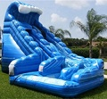 HOLA blue inflatable slide/inflatable water slide for sale
