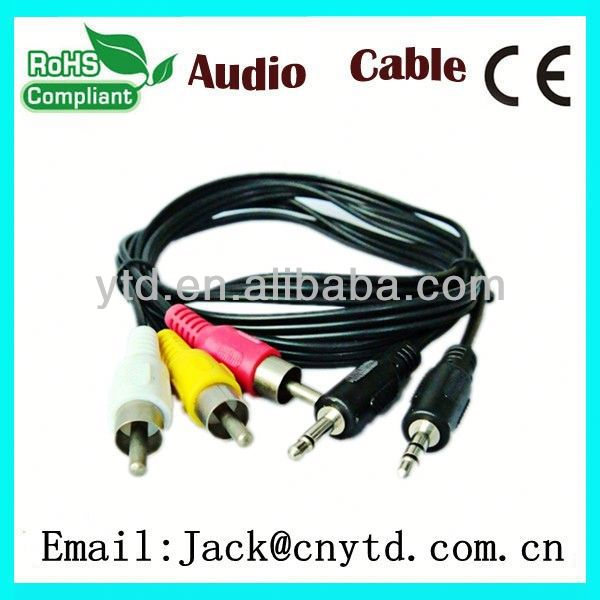 Good Speed hd15 vga to rca male cable High Quality