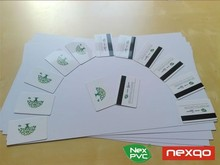 Laser printing A4 pvc card sheet for plastic card