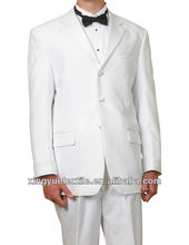 Gentle white suit for wedding/man's tuxedo