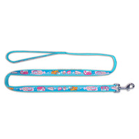 Cheap Nylon Braided Printing Dog Lead For Wholesale
