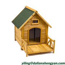 Fashion Durable Chinese Fir Wooden Dog House for Sale