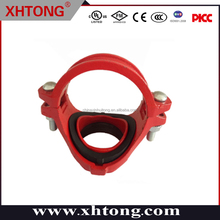China Supplier Professional FM /UL Approved Ductile Iron Threaded Outlet Mechanical Tee or other type pipe fittings