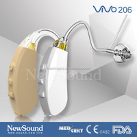 Fashion Colorful FDA and CE Approved Digital BTE Hearing Aid PSAP