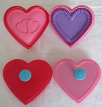 Plastic cookie Stamp plunger cutter Heart