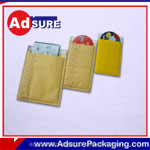 Custom Envelope Bubble Mailers/Kraft Air Bubble Envelope/Brown Kraft Bubble Mailer