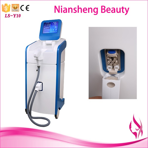 2016 new style Micro Channel 808nm diode laser sharplight permanent epilation machine for salon