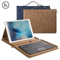 HOCO High Quality Briefcase for iPad Pro,tablet carry case, Handbag Leather Case for ipad pro 12.9
